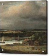 Wide River Landscape Acrylic Print
