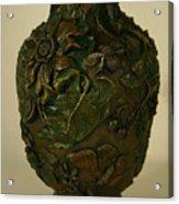 Wildflower Vase Detail Acrylic Print