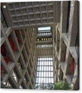 Wilson Hall At Fermilab - Interior Acrylic Print