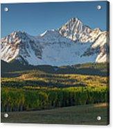 Wilson Peak Panorama Acrylic Print