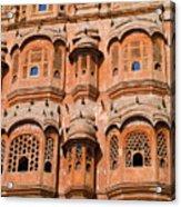 Wind Palace - Jaipur Acrylic Print