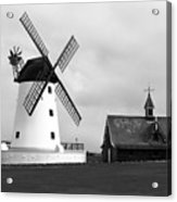 Windmill At Lytham St. Annes - England Acrylic Print