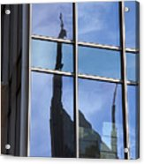 Window Reflections Acrylic Print