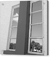 Window T Glass Acrylic Print