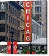 Windy City Theater Acrylic Print