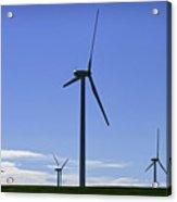 Windy Power Acrylic Print