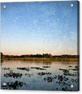 Wingfoot Lake Acrylic Print