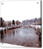 Winter In England  Acrylic Print