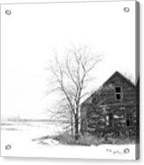 Winter In Pulaski Acrylic Print