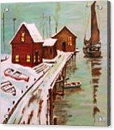 Winter Sail Acrylic Print
