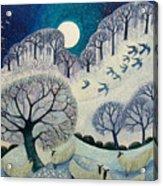 Winter Woolies Acrylic Print