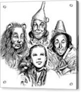 Wizard Of Oz Acrylic Print