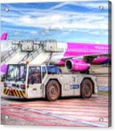 Wizz Air Airbus A321 Acrylic Print
