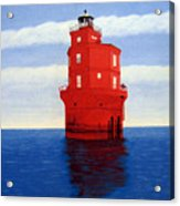 Wolf Trap Lighthouse Acrylic Print