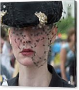 Woman With Veil Acrylic Print
