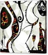 Women  4128 Acrylic Print
