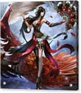 Women Warrior Acrylic Print