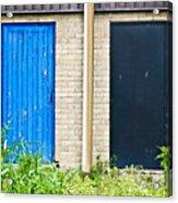 Wooden Doors Acrylic Print