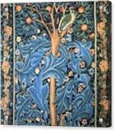 Woodpecker Tapestry Acrylic Print