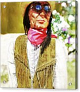 Woody Acrylic Print