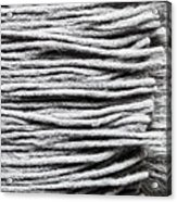 Wool Scarf Acrylic Print