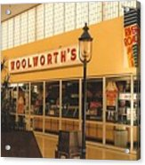 Woolworth's Store At River Roads Mall  Acrylic Print