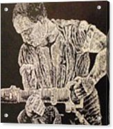 Working Man Acrylic Print