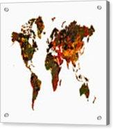 World Map 2b Acrylic Print