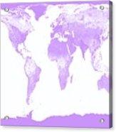 World Map Acrylic Print