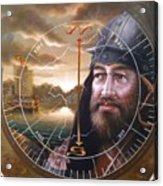 World Unification Gold Or Sea Captain Acrylic Print