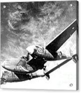 Wwii, Lockheed P-38 Lightning, 1940s Acrylic Print