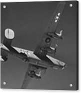 Wwii Us Aircraft In Flight Acrylic Print