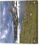Wyoming Snow'y Range Acrylic Print