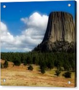 Wyoming's Devil's Tower Acrylic Print