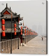 Xian Lanterns Acrylic Print