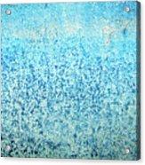 Yacht Hull Erosion Patterns Acrylic Print