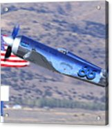 Yak Attack Sunday's Gold Unlimited Race Acrylic Print