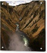 Yellowstone Grand Canyon Acrylic Print