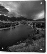 Yellowstone River Camp Acrylic Print
