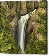 Yellowstone Tower Falls 2018 Acrylic Print