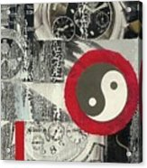 Ying Yang Acrylic Print