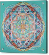 Yogi By The Sea Acrylic Print