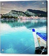 Zaante Town, Zakinthos Greece Acrylic Print