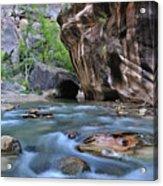 Zion National Park Narrows Acrylic Print