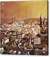 Zurich Skyline Acrylic Print