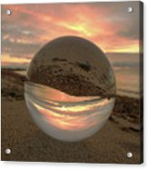 10-27-16--1914 Don't Drop The Crystal Ball, Crystal Ball Photography Acrylic Print