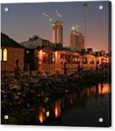 Abu Dhabi The Miracle Acrylic Print