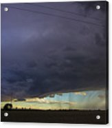 Afternoon Nebraska Thunderstorm Acrylic Print