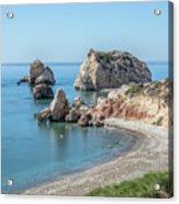 Aphrodite's Rock - Cyprus Acrylic Print
