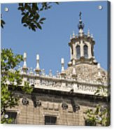 Cathedral Of Seville - Seville Spain Acrylic Print
